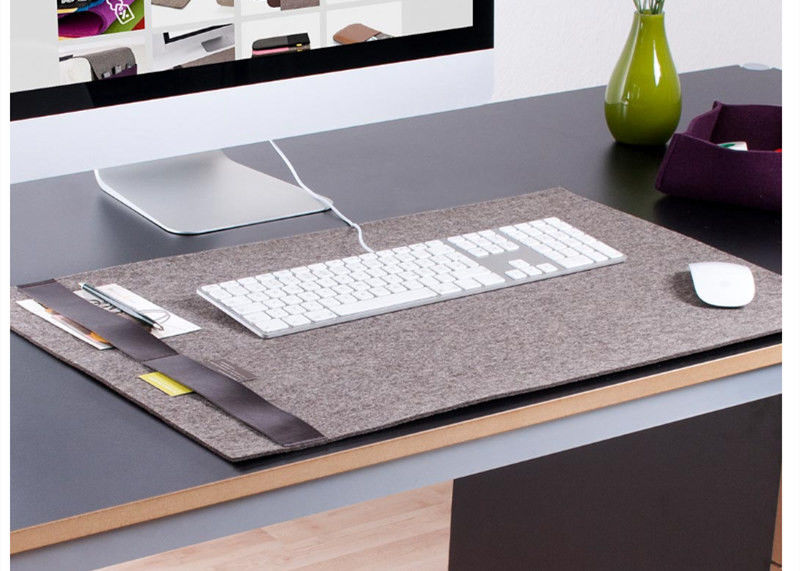 Multi Functional Office Dual Use 40*80cm Felt Mouse Mat