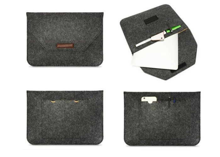 Soft Smooth Interior 11 Inch Felt Laptop Case For Notebook